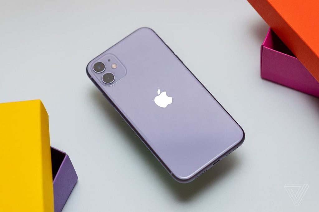 The iPhone 11 (£699) - not the higher specced 11 Pro