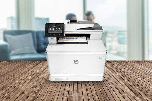 L'imprimante HP Color LaserJet MFP M477FDW